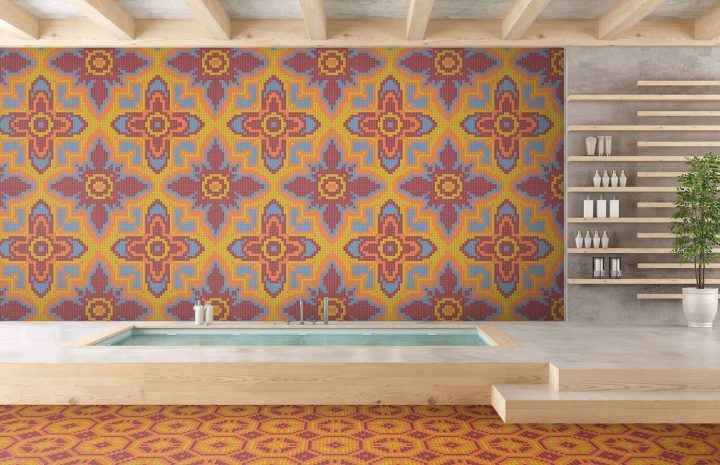 Add Interesting Texture To Your Home With Patterned Tile